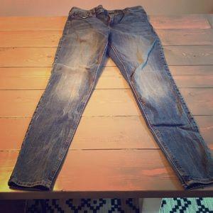 Old Navy Rockstar Skinny Jeans size TALL